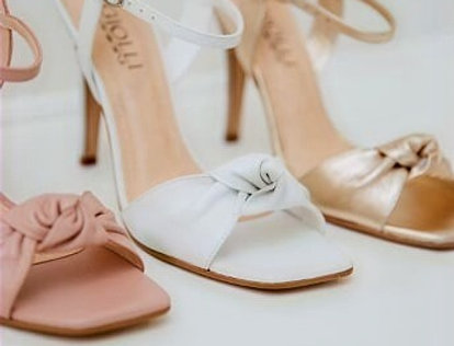 Sandália Bia Alta Branca