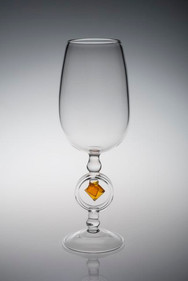 Wulfenite Wine Glass