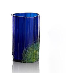 Azurite w/ Malachite glass