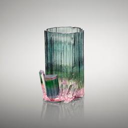 Tourmaline Cluster Glass