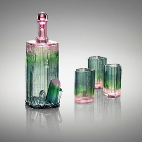 Tourmaline Decanter set