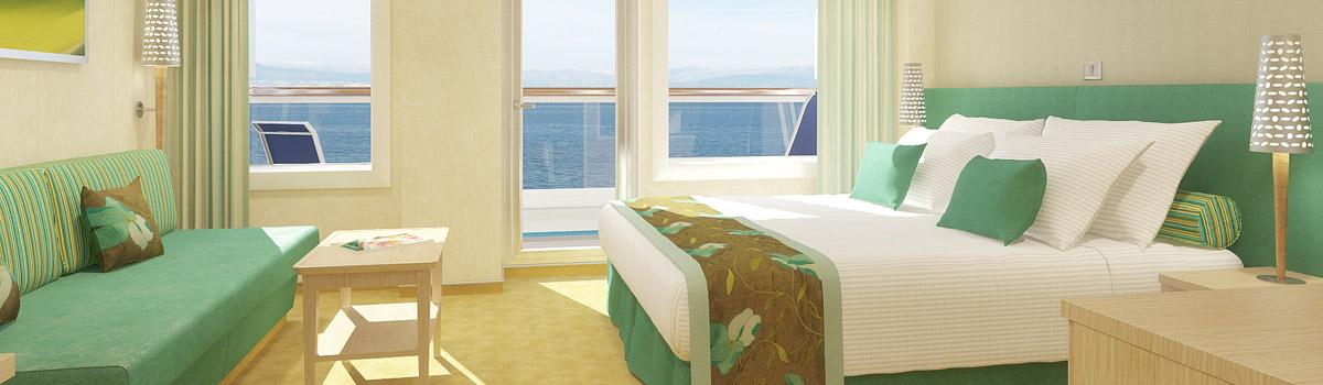 cloud 9 spa balcony Ship Details The Hanna Wedding