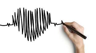 14924158-hand-tekening-hartslag-op-een-w