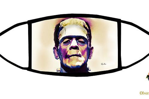 Frankenstein Adjustable Face Mask / 3-ply/ Washable/ Reusable/ Handmade in USA