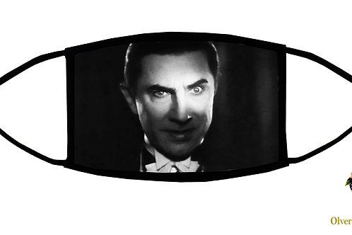 Bela Lugosi Adjustable Face Mask / 3-ply/ Reusable/ Handmade in USA