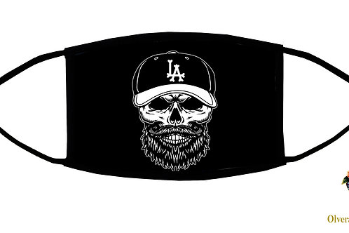 L.A. Champions! Adjustable Face Mask/ 3-ply/ reusable/ made in US