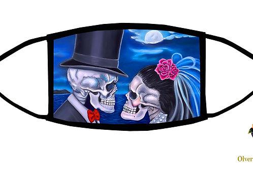Eternal Love Adjustable Face Mask / 3-ply/ Reusable/ Soft/ Handmade in USA