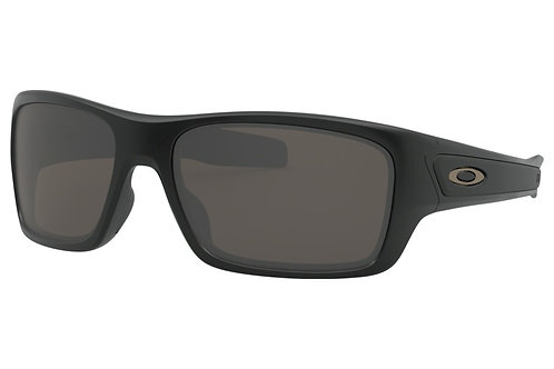 Oakley TurbineXS (youth fit) Matte Black warm grey lens
