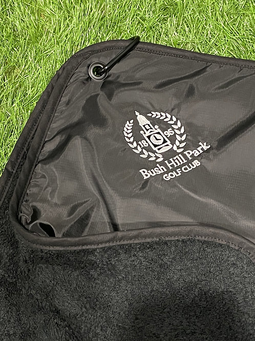 Rain Hood Cover Towel, 1895 Club Crest