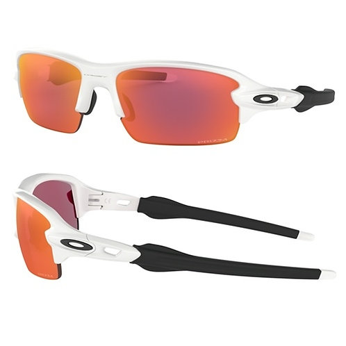 Oakley Flak XS (youth fit)Polish whitewith Prizm lens