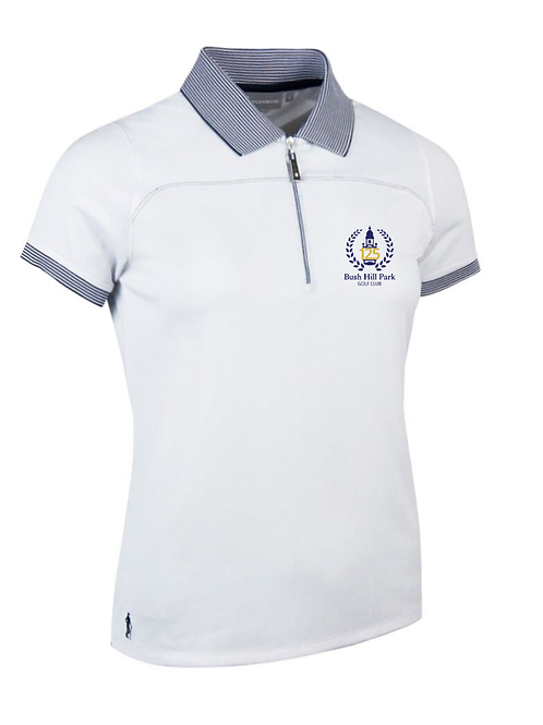 Nadia 1/4 zip Performance Polo, 125 Collection
