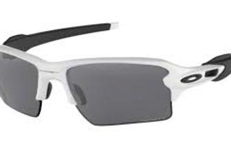 Oakley Flak 2.0 XL, polished whiteFrame with Black Prizm Lens