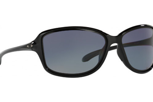 Oakley Cohort Sunglasses, Polished Black, Grey Polarized Lense