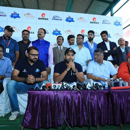 Press conference in Hubli with Ro-HIT!