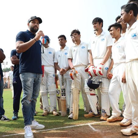 Hitman Rohit Sharma masterclass at CricKingdom Mumbai!
