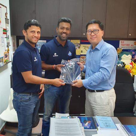 Vishal & Chetan visit to St. Patrick's School