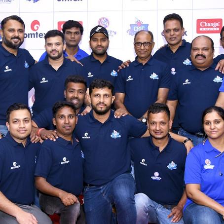 CricKingdom team with Rohit Sharma in Pune!