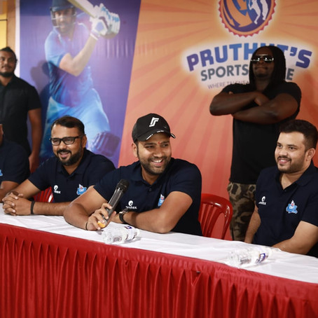 Launch in Pune at Pruthvi's Sports Zone!