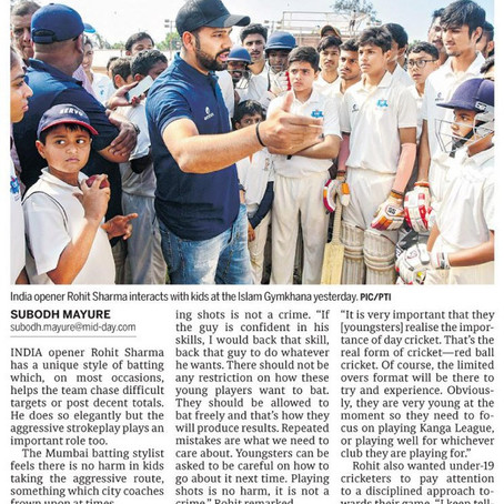 Press release in Mid-Day Mumbai