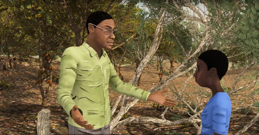 Animation for the International Cacao Initiative ICI