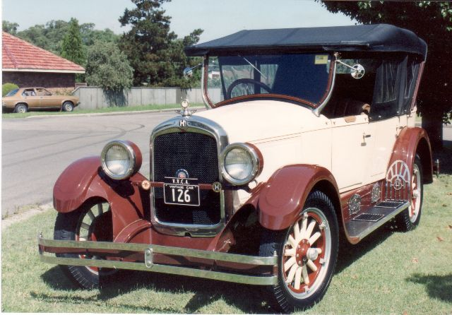 Hupmobile 1926 Tourer