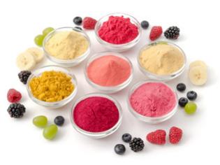 Frucht- und Gemüsepulver