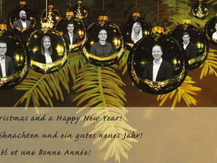 Frohe Weihnachten /  Joyeux Noël / Merry Christmas