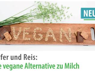 Vegane Lebensmittel boomen!