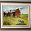 Thumbnail: Well Executed Watercolor of a Vermont Farm By Ruth Newquist