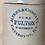 Thumbnail: Antique Stoneware Whiskey Jug signed Myers & Company