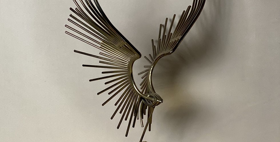 Mid Century Hawk Sculpture
