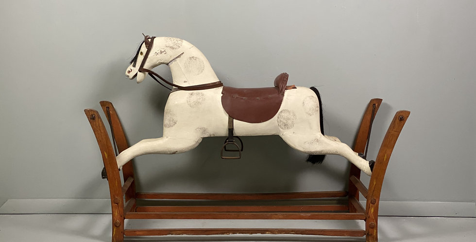 Very Nice Antique Wooden Horse