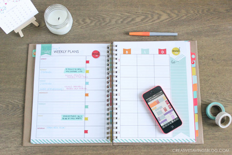 Organize Your Life in Seven (7) Days