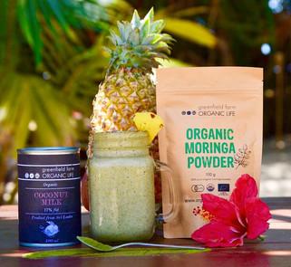 Organic life moringa