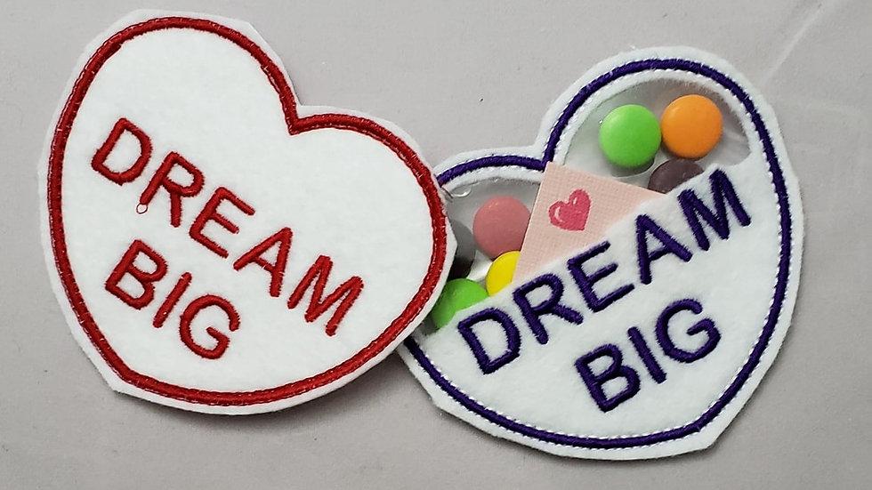 Conversation Hearts Candy Holder Dream Big Digital File