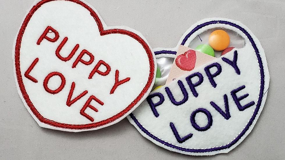 Conversation Hearts Candy Holder Puppy Love Digital File