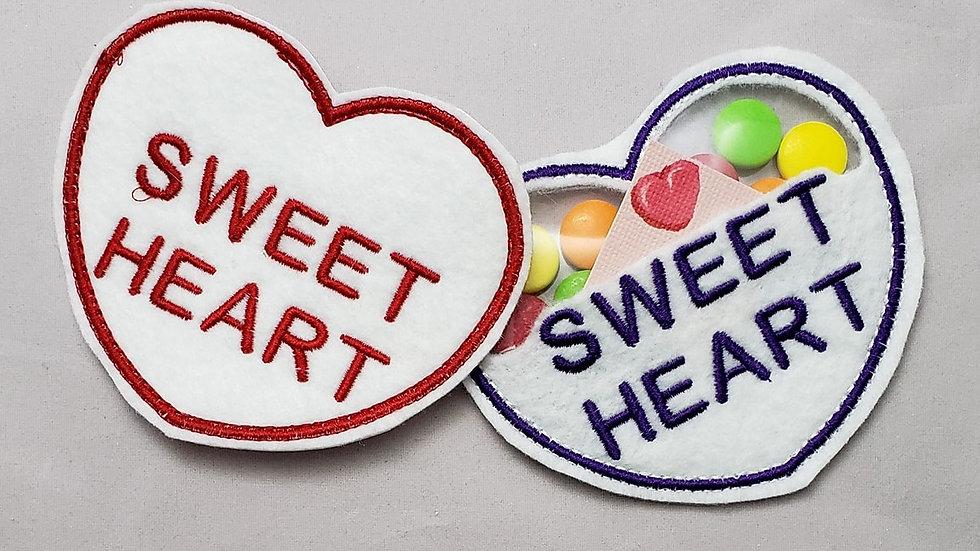 Conversation Hearts Candy Holder Sweet Heart Digital File