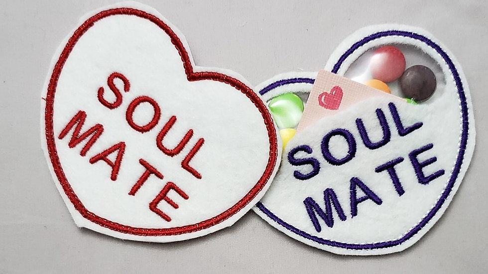 Conversation Hearts Candy Holder Soul Mate Digital File