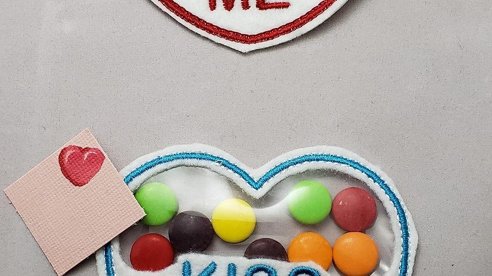 Conversation Hearts Candy Holder Kiss Me Digital File