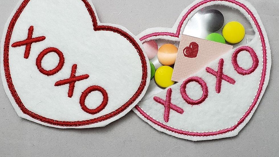 Conversation Hearts Candy Holder XOXO Digital File