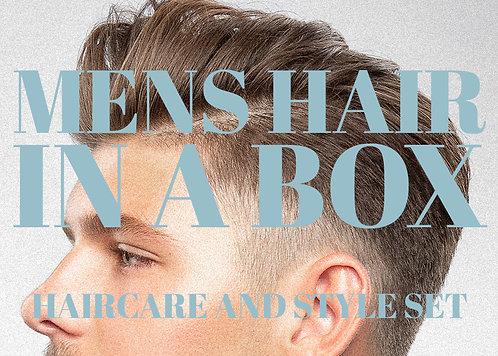 MENS HAIR in a box