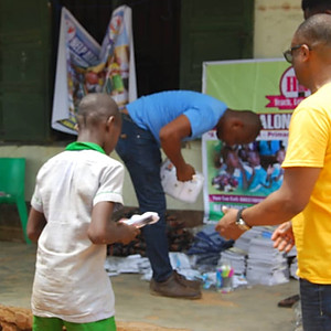 Outreach in Enugu