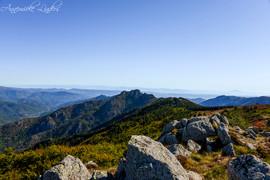 Vu depuis la Tour des Poignets, 1538 m, Ardèche