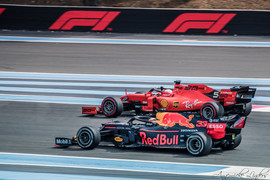 Max Verstappen, Sébastien Vettel, Le Castellet, Grand Prix de France F1, 2019