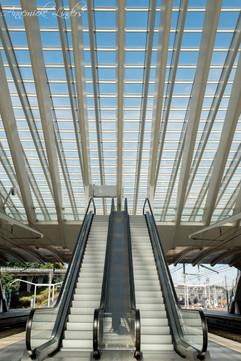 Gare Guillemins, Liège, Belgique