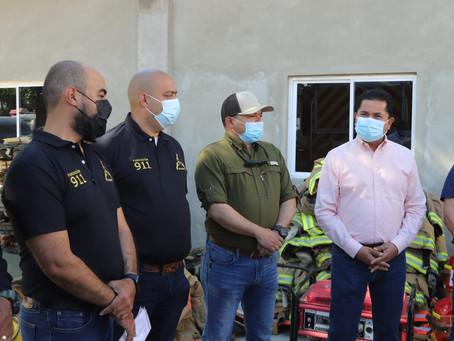FUNDACIÓN 911 ENTREGÓ IMPORTANTE EQUIPO A LA DIRECCIÓNDE PROTECCIÓN CIVIL Y BOMBEROS DE CIUDAD ACUÑA