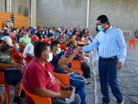 APLICAN 1,890 VACUNAS Y ANUNCIAN OTRA JORNADA DE VACUNACIÓNDE CUATRO HORAS