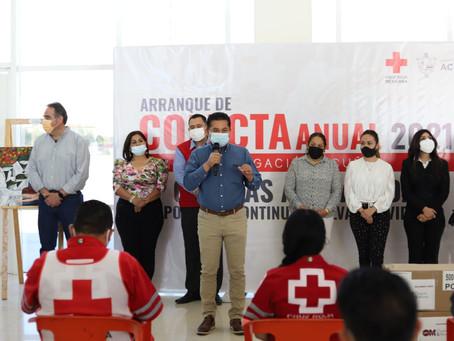 ARRANCAN LA COLECTA ANUAL DE LA CRUZ ROJA MEXICANA DELEGACIÓNACUÑA, CON LA META DE REUNIR 500 MIL