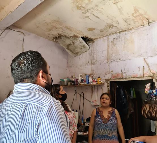 """VERIFICAN CONDICIONES DE LAS FAMILIAS CANDIDATAS AL PROGRAMA""""TECHO DIGNO, FAMILIA SEGURA"""""""
