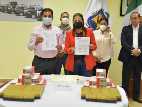 AUN CUANDO EXISTE TRANQUILIDAD,ACUÑA SIGUE INVIRTIENDO EN MATERIA DE SEGURIDAD